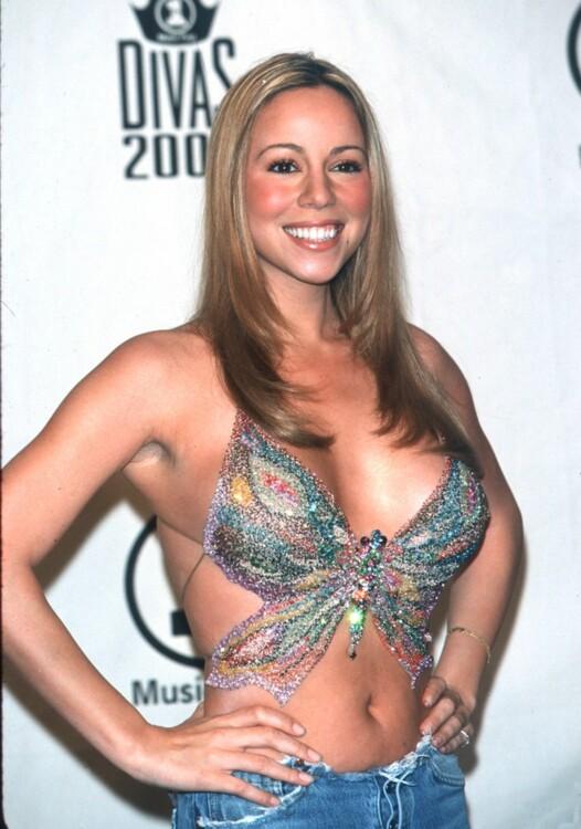 Мэрайя Кэри на мероприятии VH-1 Divas, 2000