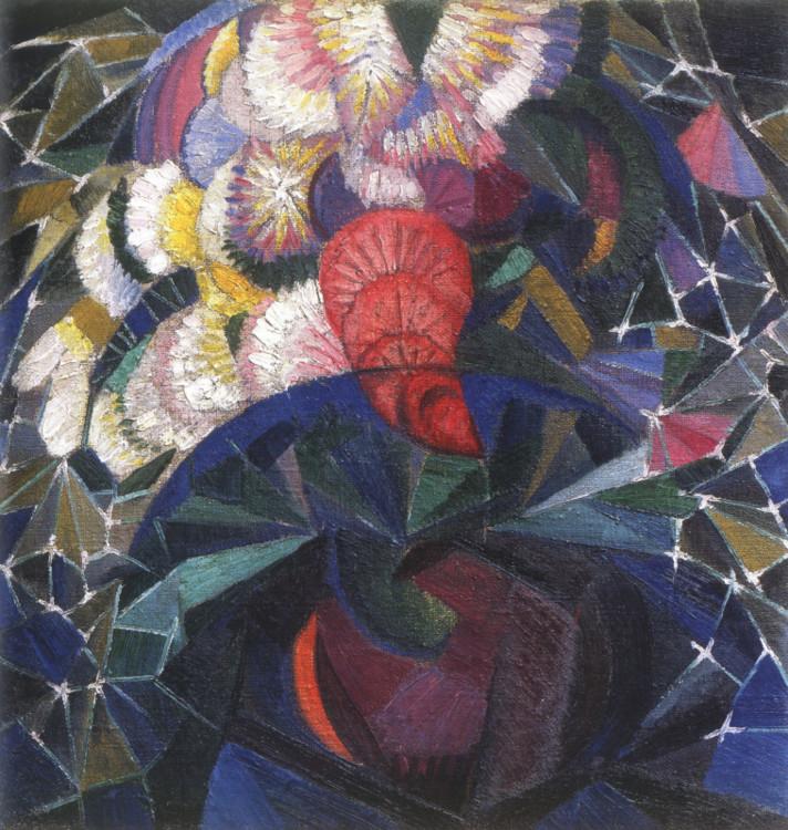 «Букет цветов», 1915 (Частная коллекция)