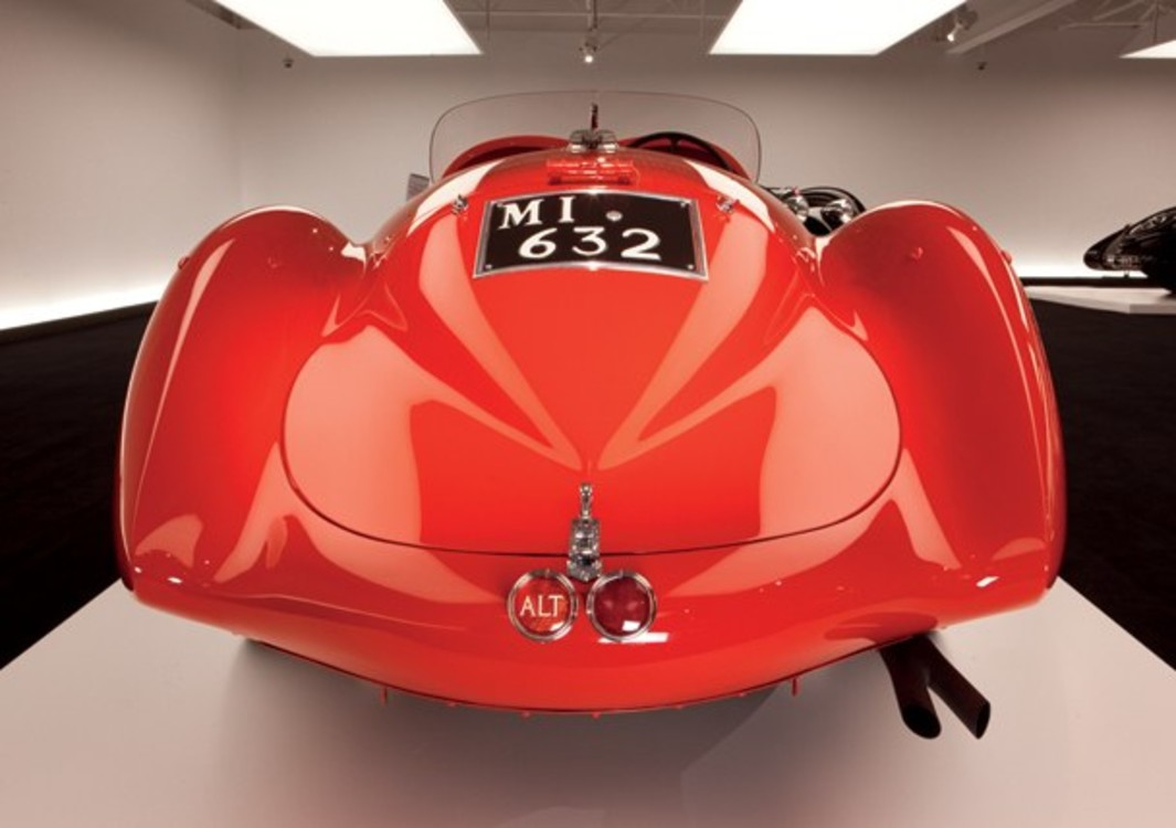 Alfa Romeo Mille Miglia Spyder,  1938 год