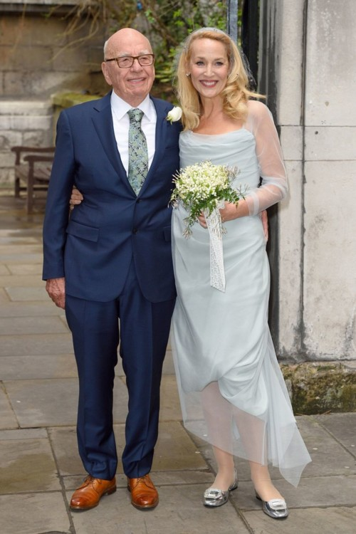 Джерри Холл в Vivienne Westwood, март 2016