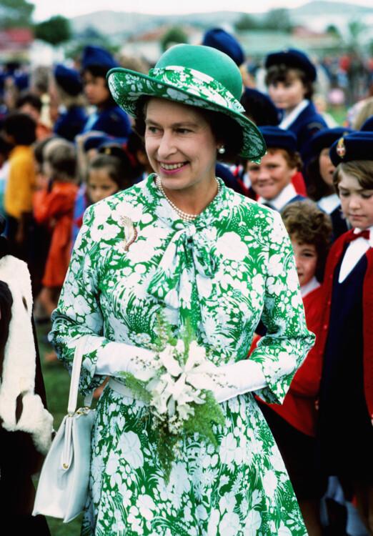 Єлизавета II під час візиту до Університету Вірджинії 1976 року