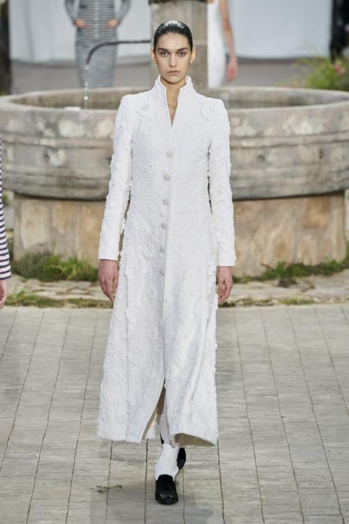 Євгенія Дубінова на шоу Chanel Couture весна-літо 2020