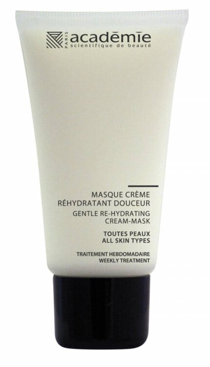 Пом'якшувальна відновлювальна крем-маска Masque-Creme Rehydratant Douceur, Academie, з яблучною водою і алое вера