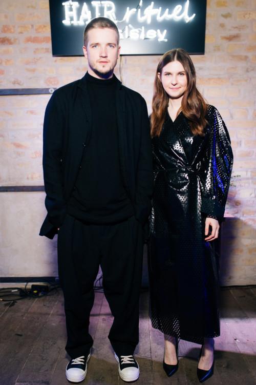 Андрей Крупчинский (Erteqoob) и Елена Мусийчук (Sisley)