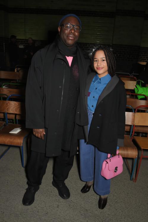 Стив Маккуин с дочерью Алекс