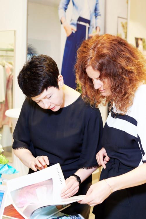 Елена Завьялкина и Сиги Дорн