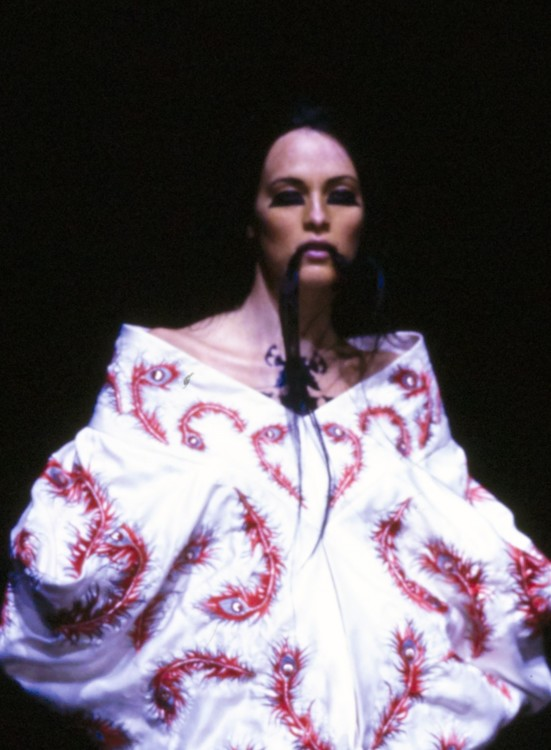 Alexander McQueen весна 2000