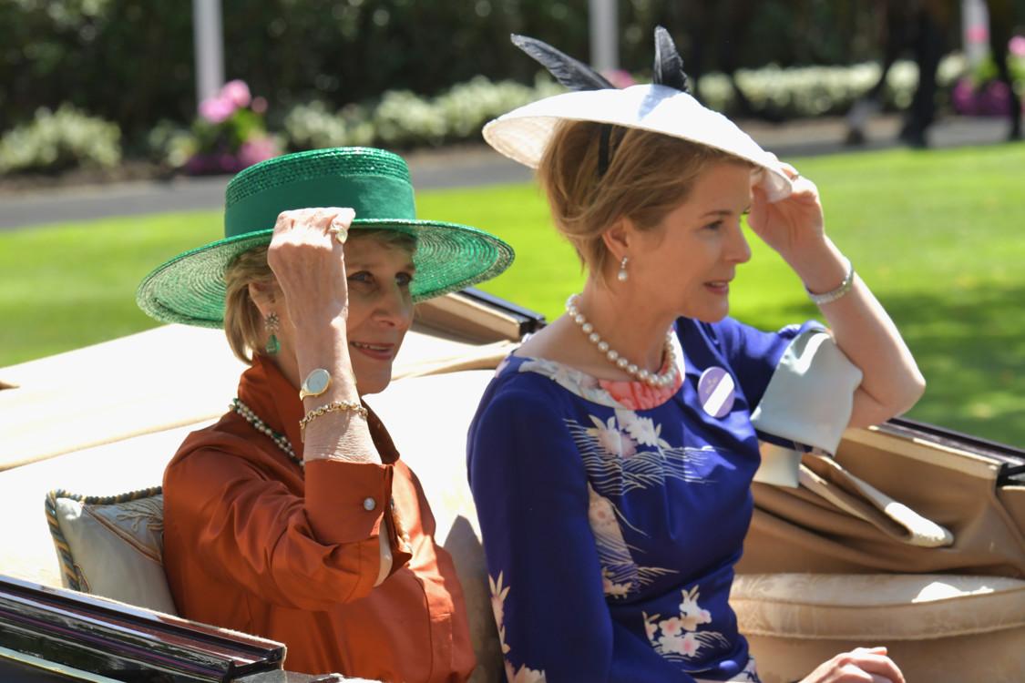 Бригітта, герцогиня Глостерська і Серена Армстронг-Джонс
