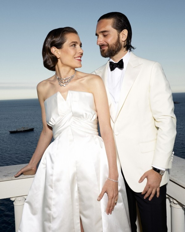 Весілля принцеси Шарлотти Казигарі і Димитрія Рассама