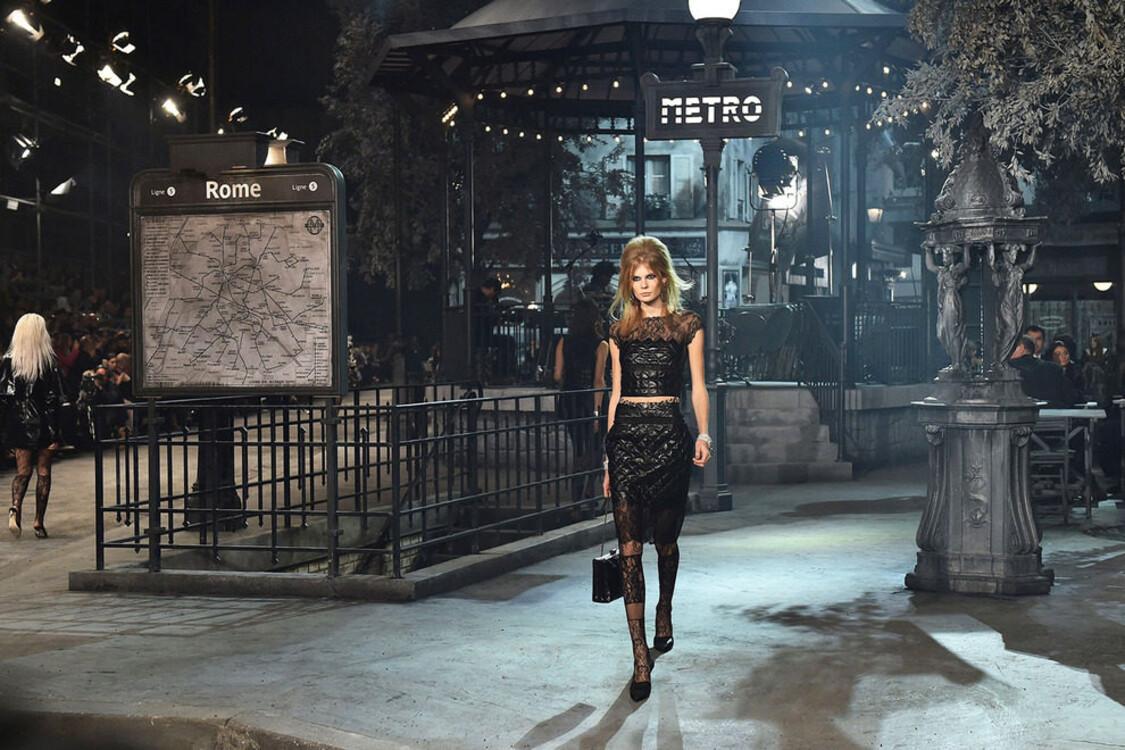 Chanel Métiers d'Art в Риме
