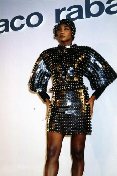 Paco Rabanne Haute Couture осінь-зима 1990/1991