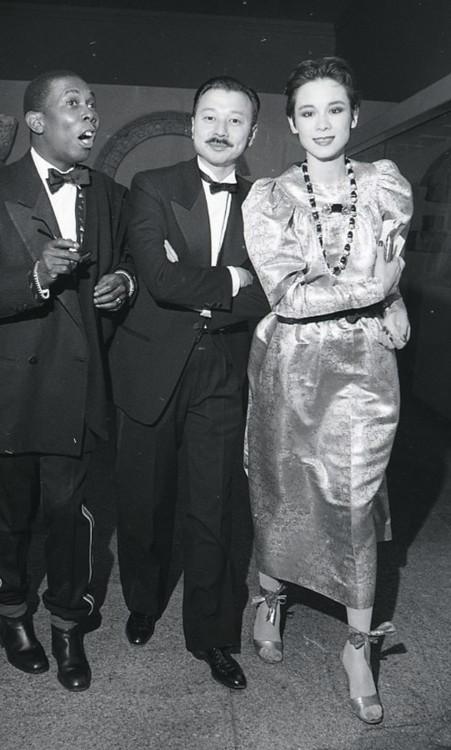 Майкл и Тина Коу, Met Gala, 1980