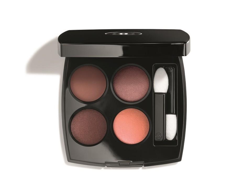 Тени Les 4 Ombres Warm Memories из весенней коллекции макияжа Desert Dream, Chanel, лимитированный выпуск