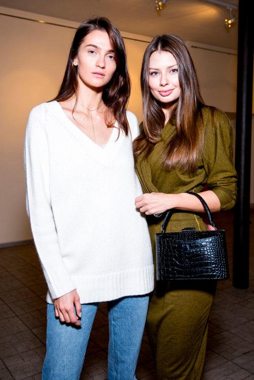 Элла Кандыба и Алена Мусиенко