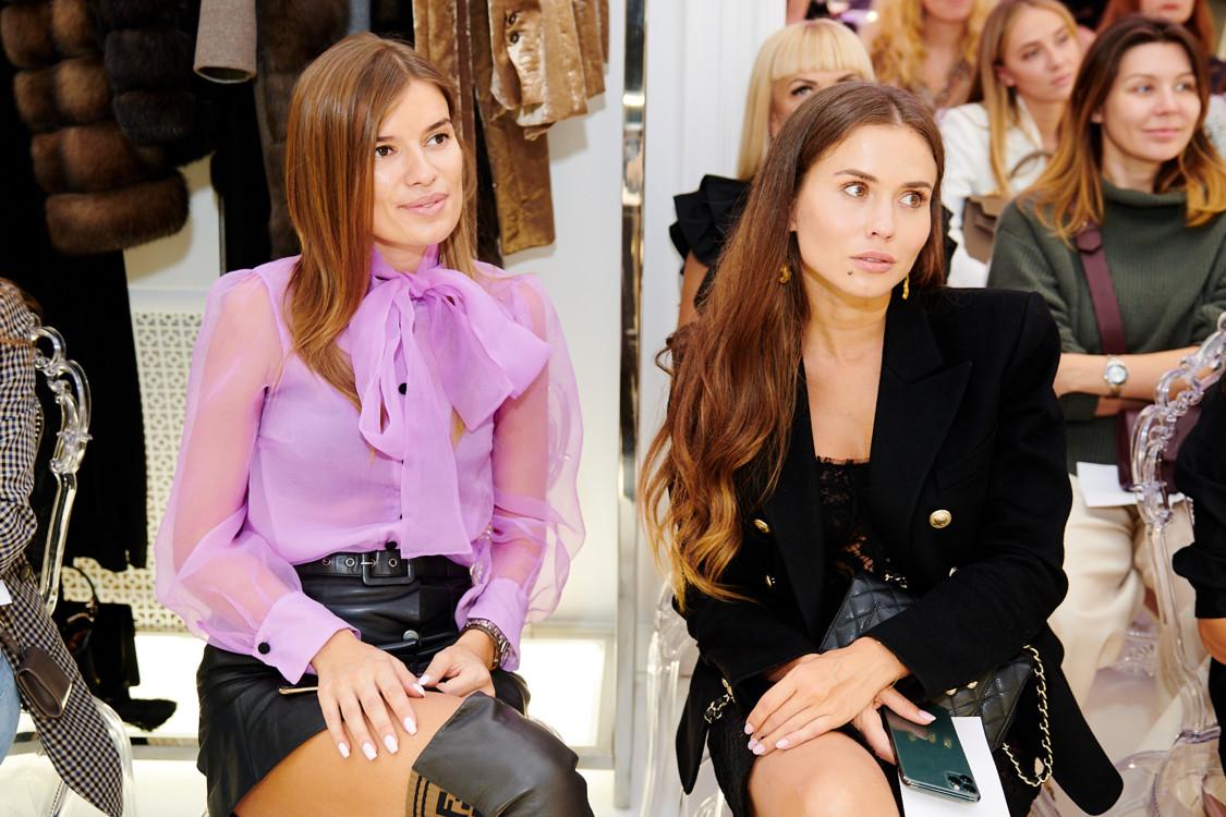 Виктория Драган с подругой