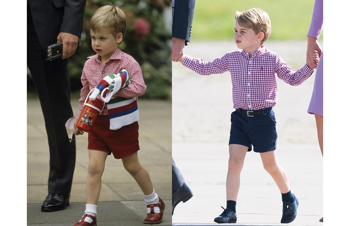 Принц Уильям 1985 / принц Джордж 2017
