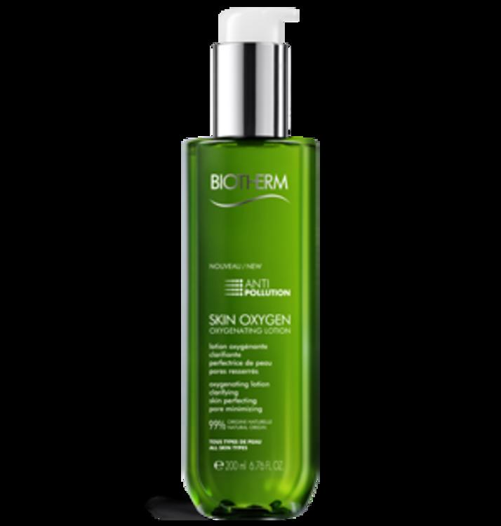 Лосьон для глубокого очищения и насыщения кожи кислородом c экстрактом водоросли хлореллы Skin Oxygen, Biotherm