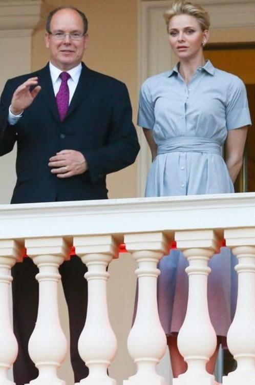 Принц Монако Альбер II и принцесса Монако Шарлен