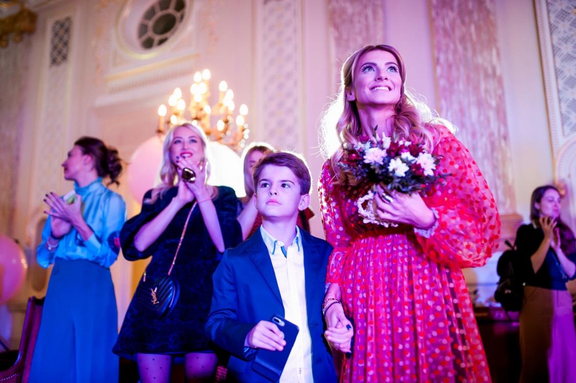 Елизавета Юрушева с сыном