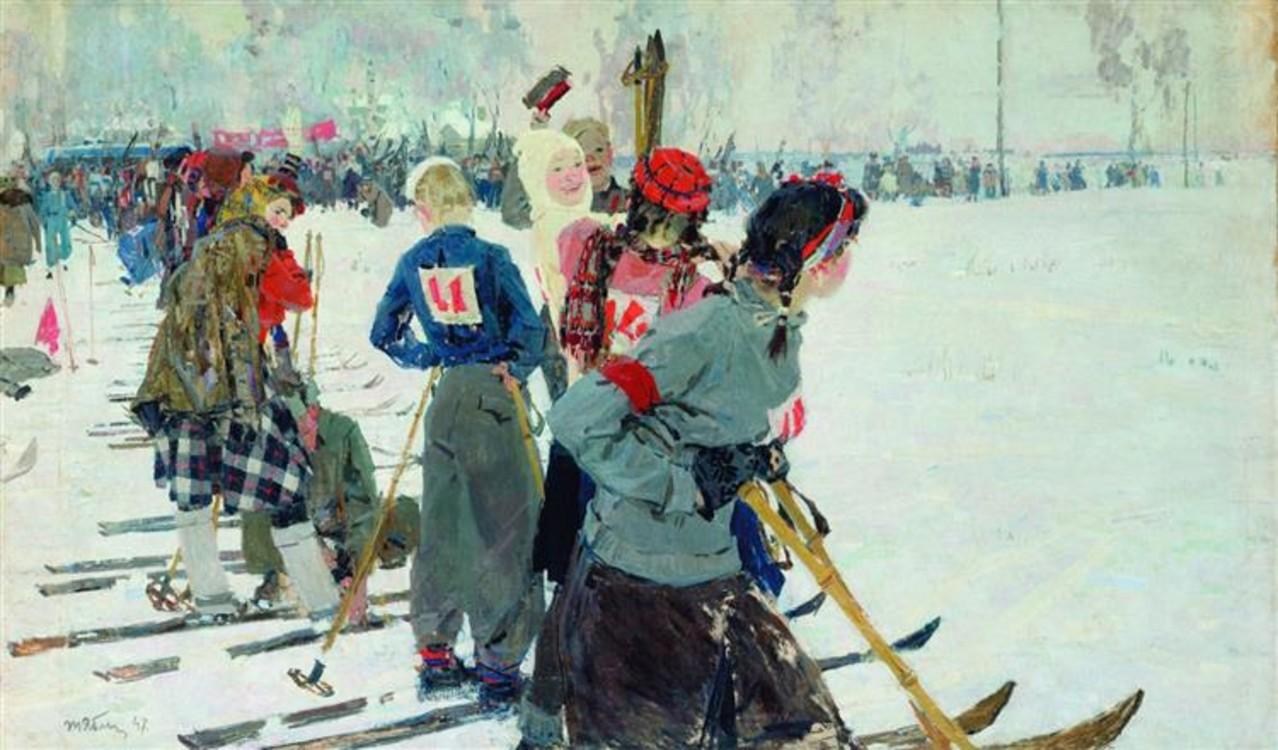 """""""Перед стартом"""", 1947 год"""