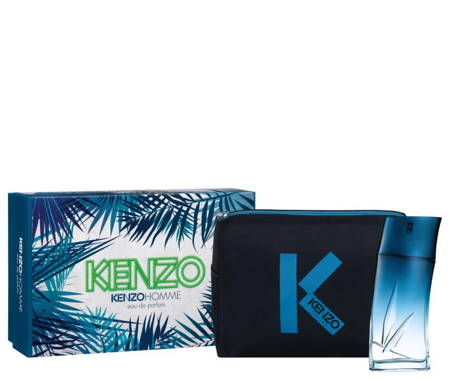 Мужской подарочный набор Kenzo Homme, косметичка и парфюмированная вода, все - Kenzo