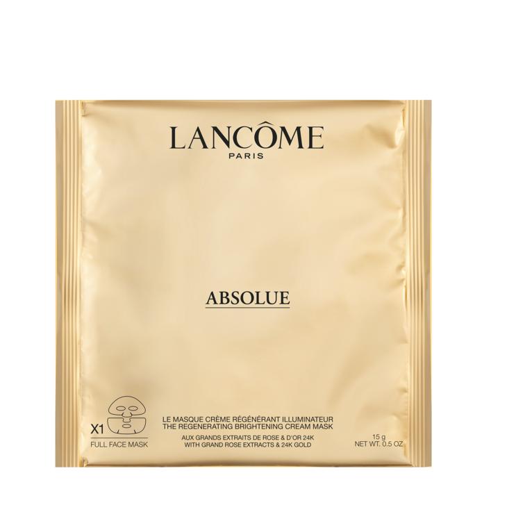 Разовая восстанавливающая тканевая маска Absolue Regenerating Brightening Mask, Lancome