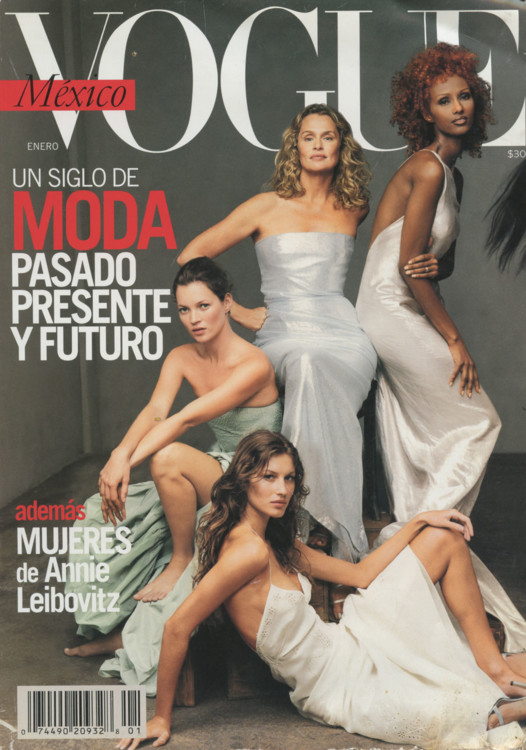 Vogue Mexico, январь 2000
