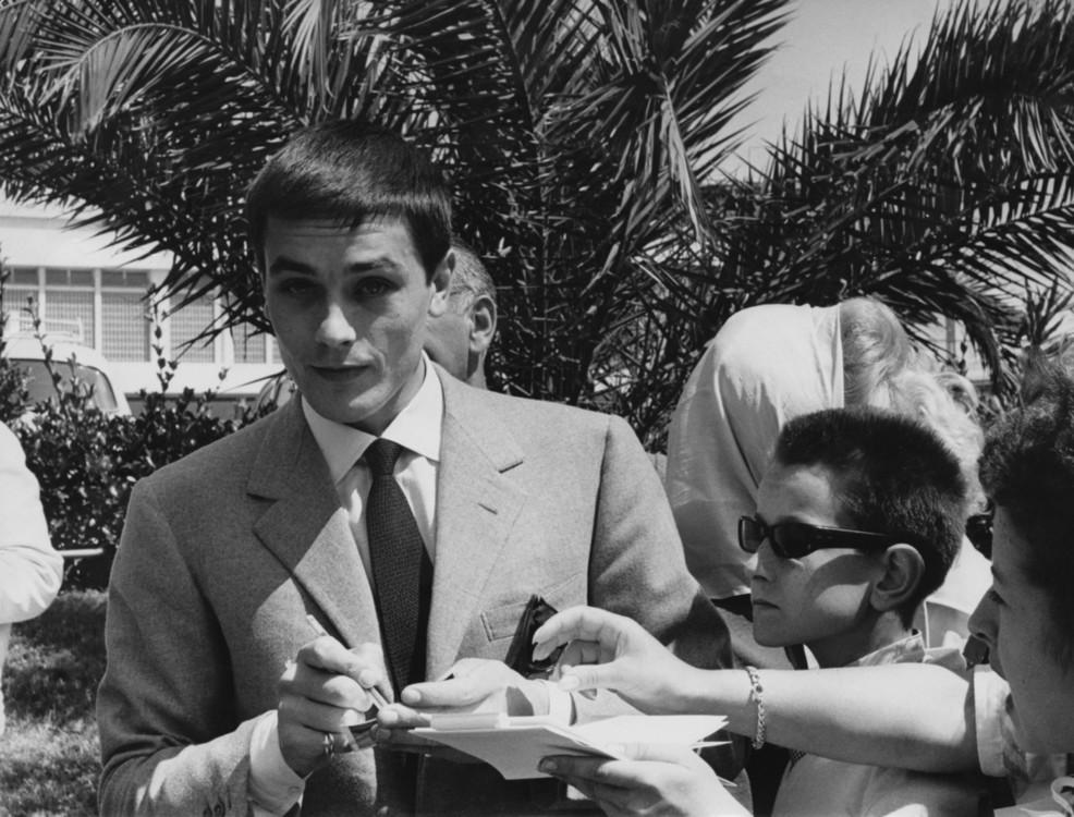Ален Делон на Каннском кинофестивале, 1961 год