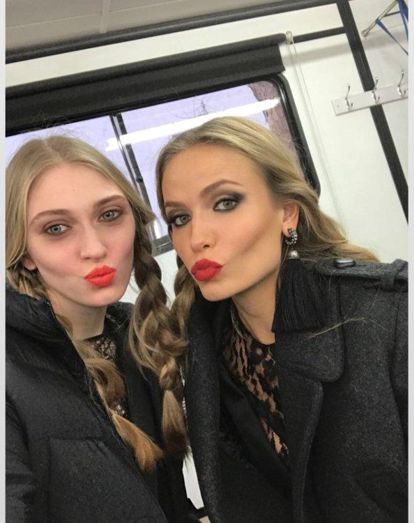 Марина Полканова и Наташа Поли