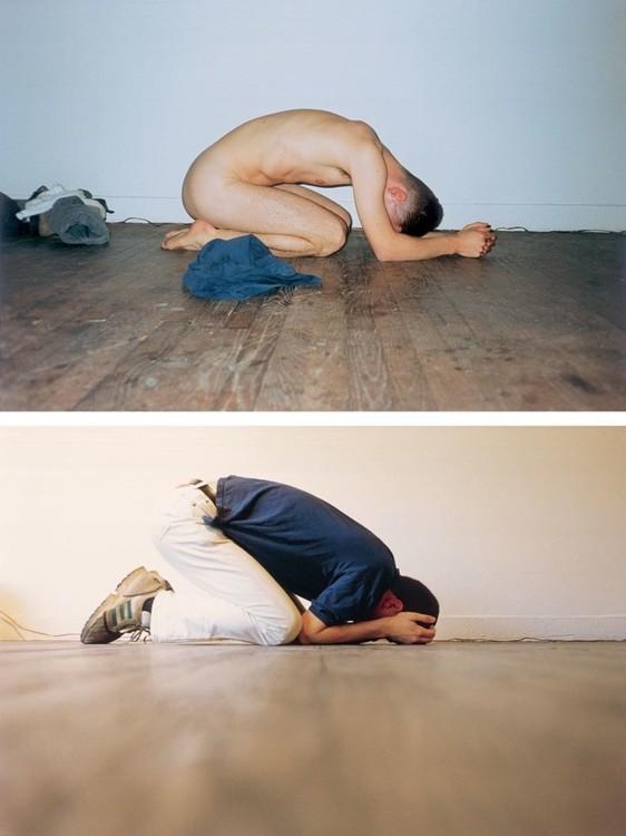 Сверху: «Like Praying II», 1994; «Like Praying I», 1994