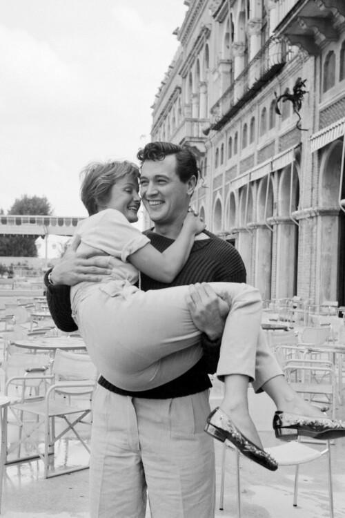Рок Хадсон и Новелла Париджини, 1954