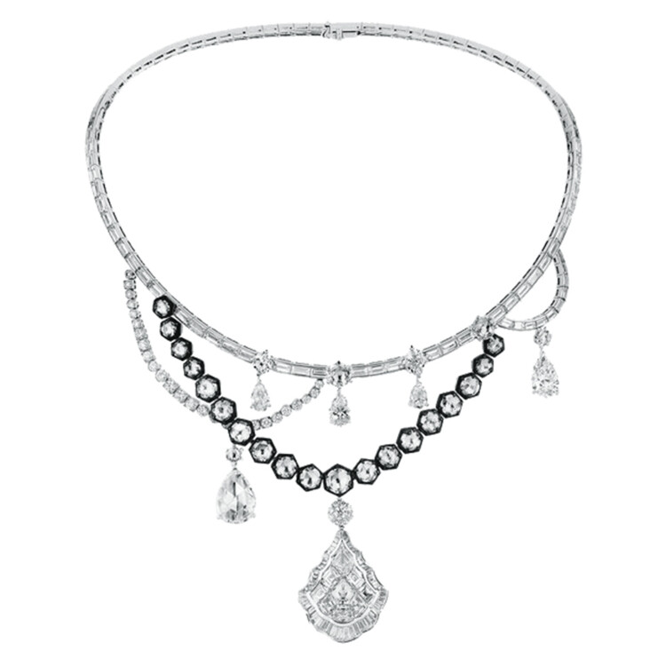 Намисто, золото, діаманти, Dior à Versailles High Jewellery