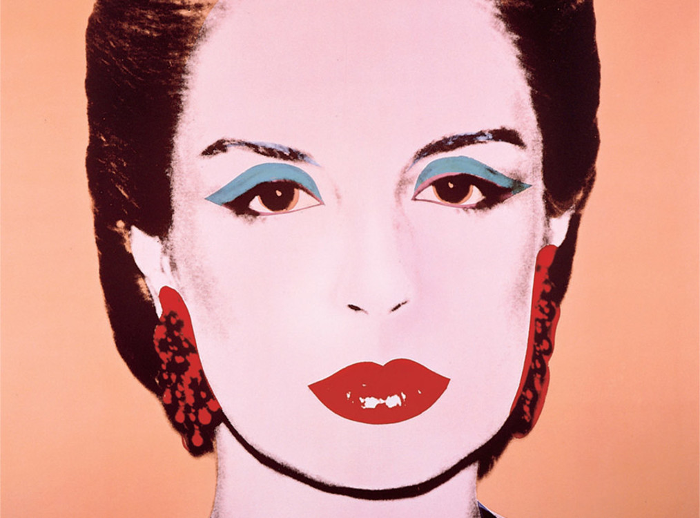 Каролина Эррера дружила с Энди Уорхоллом. В 1983 году он даже нарисовал ее портрет.