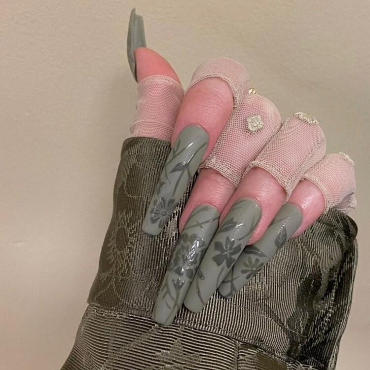 наращивание ногтей 2020 фото