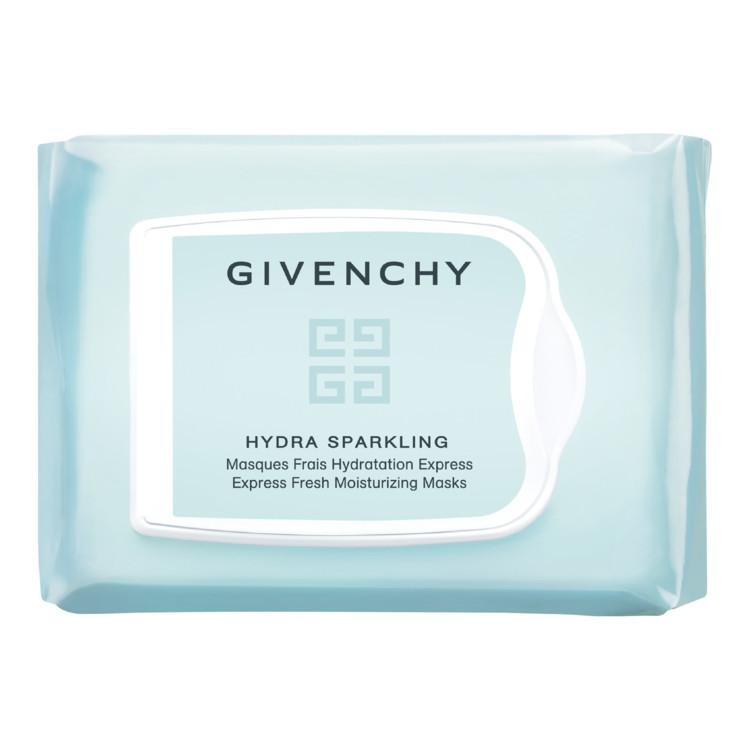 Набір одноразових тканинних масок з ефектом миттєвого зволоження Hydra Sparkling, Givenchy