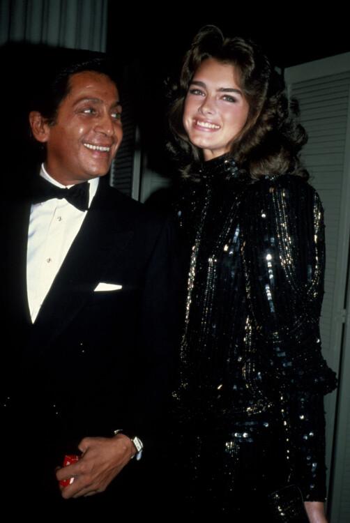 Брук Шилдс і Валентино Гаравані, 1982