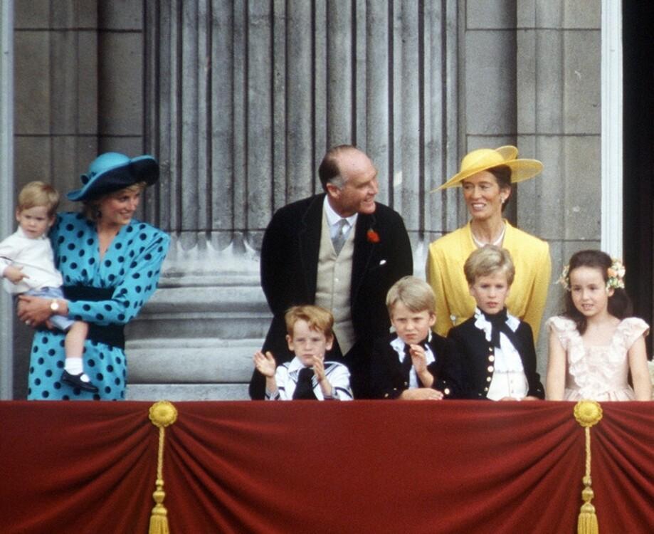 Принцесса Диана в Букингемском дворце