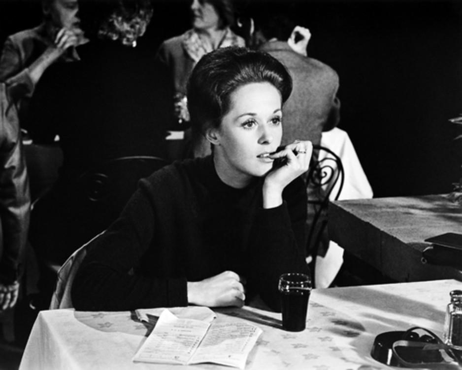Типпи Хедрен в фильме «Марни», 1964 год