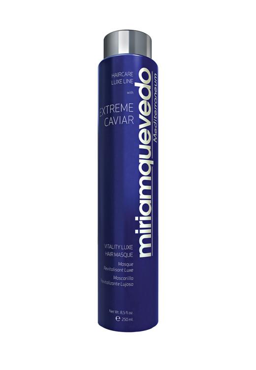 Восстанавливающая маска-люкс для волос с экстрактом черной икры Vitality Luxe Hair Masque, Miriam Quevedo