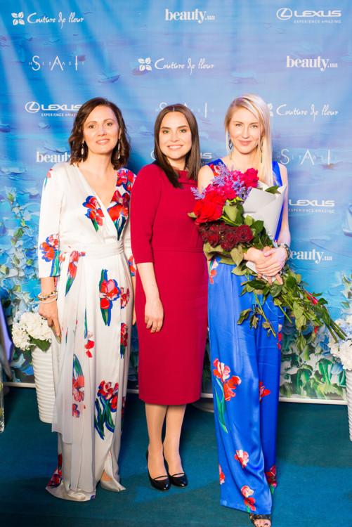 Инна Катющенко, Анастасия Даугуле и Елена Подтопта