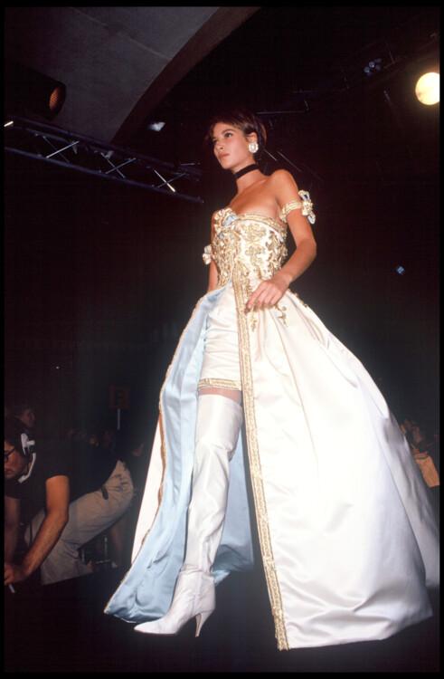 Chanel Haute Couture осень-зима 1991/1992