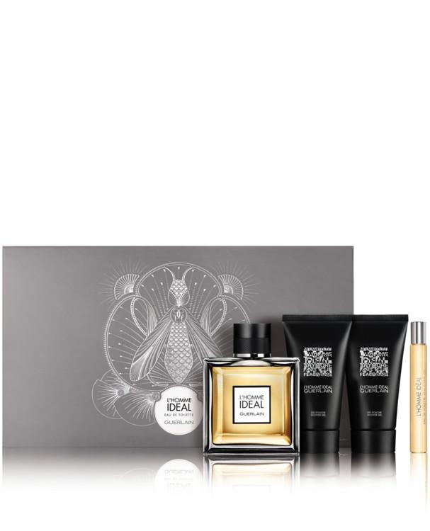Парфюмерный набор L'Homme Ideal: аромат, дорожная версия и два геля для душа в дорожном формате, Guerlain
