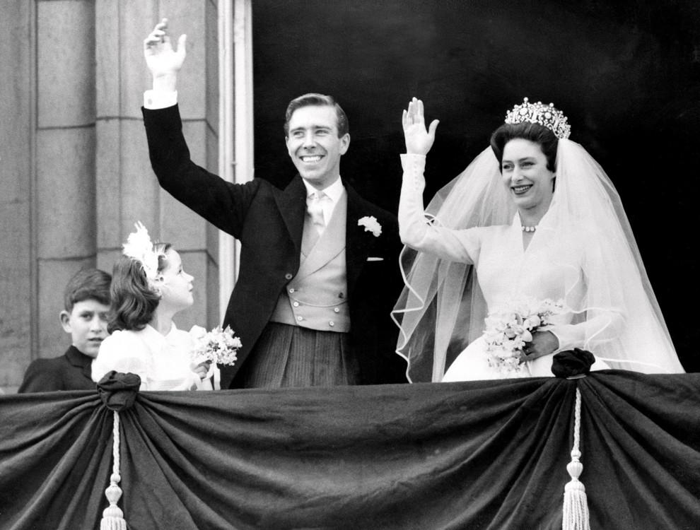 Принцеса Маргарет і Ентоні Армстронг-Джонс 6 травня 1960