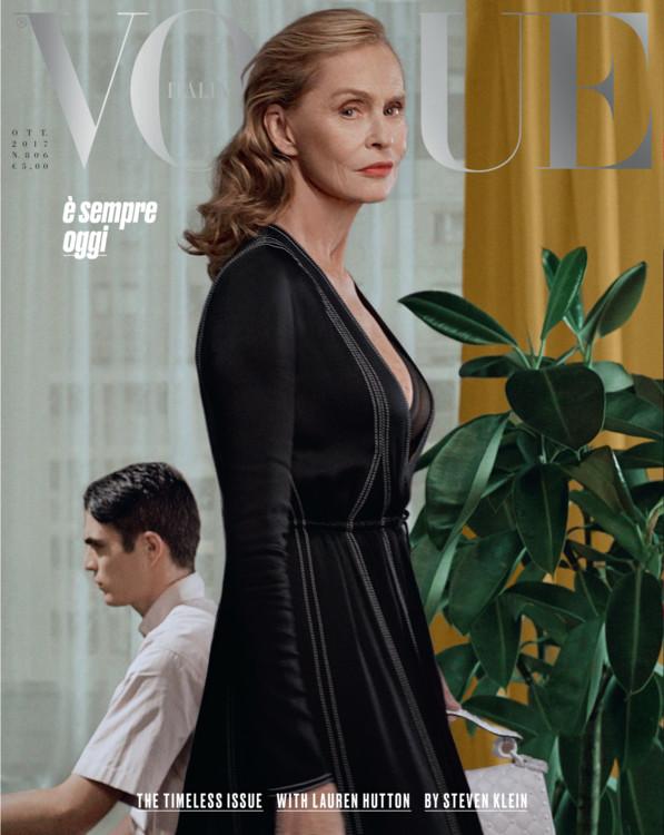 Vogue Italy, октябрь 2017