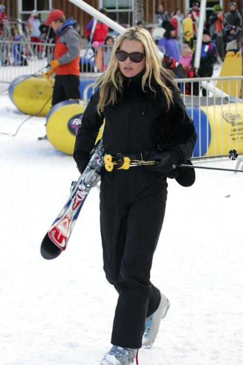 Кейт Мосс в Аспене, 2006 год