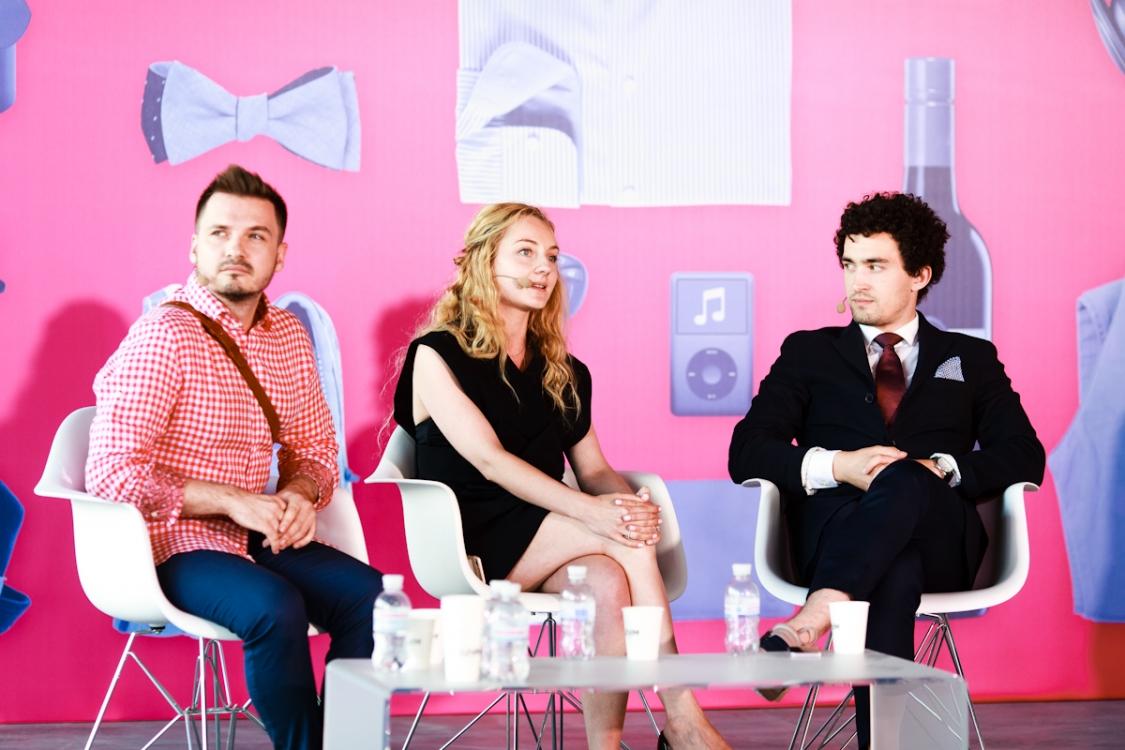 Алексей Нилов, Катерина Возианова и Дмитрий Андреев