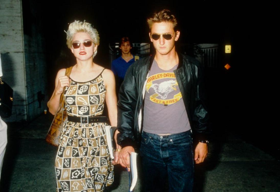 Мадонна и Шон Пенн в Нью-Йорке, август 1986
