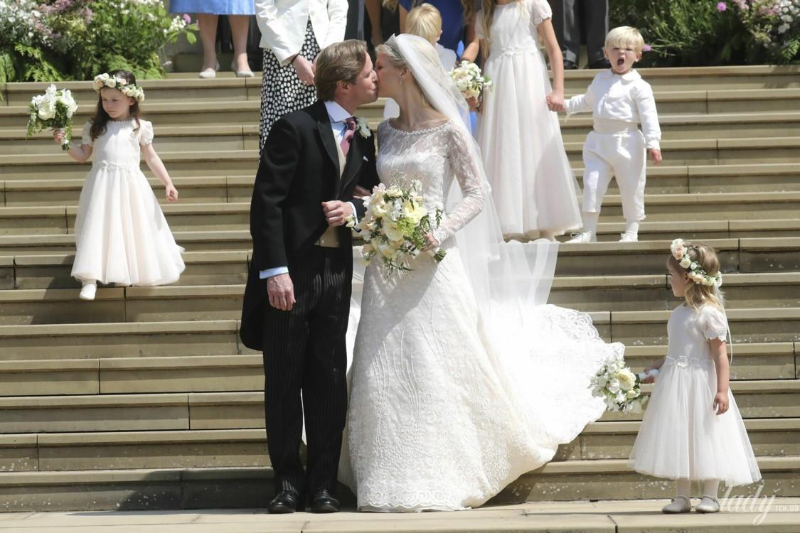 Свадебное платье леди Габриэллы Виндзор