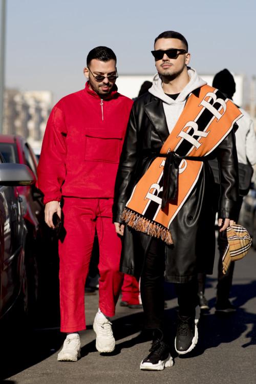 5f4ef869e13 Streetstyle  гости Недели мужской моды в Милане
