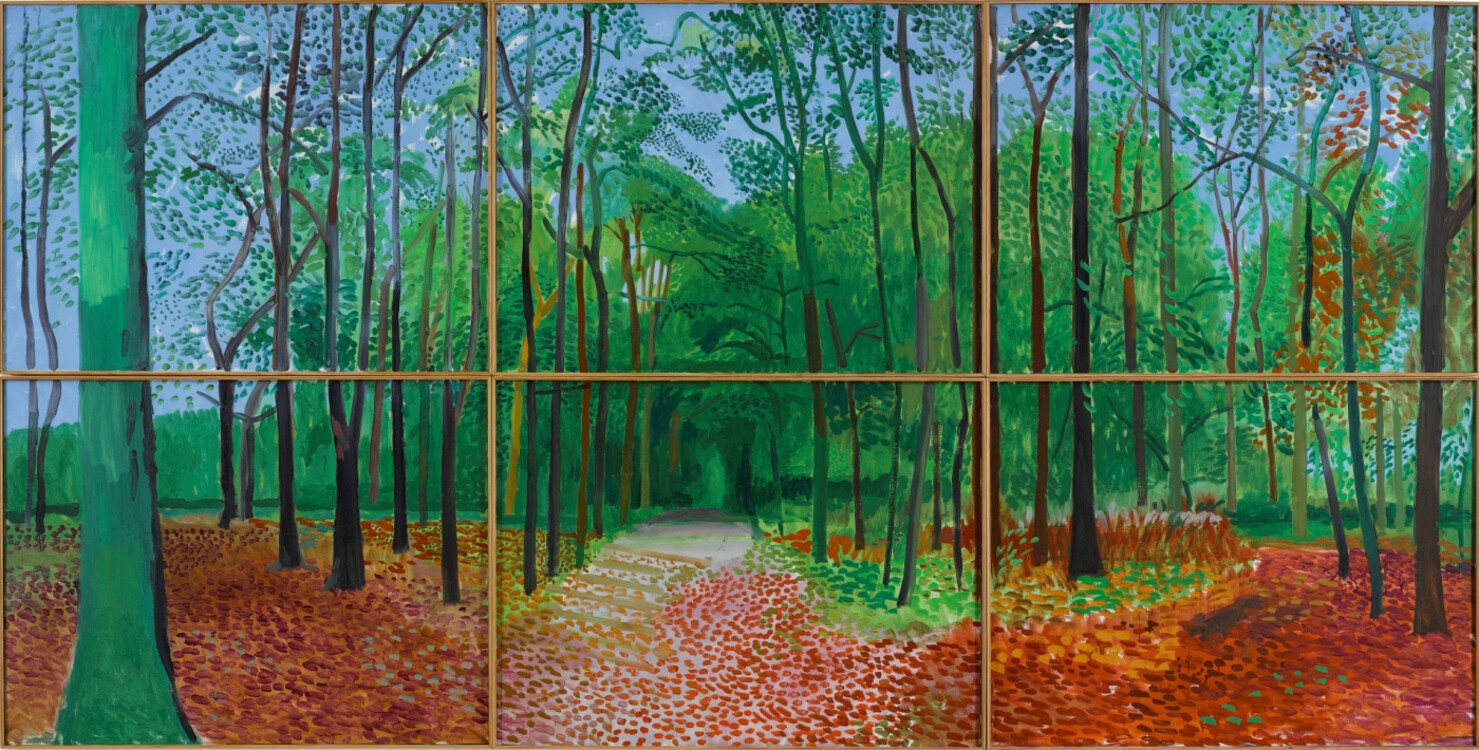 «Леса в Восточном Йоркшире 24, 25 и 26 октября 2006 года», 2006